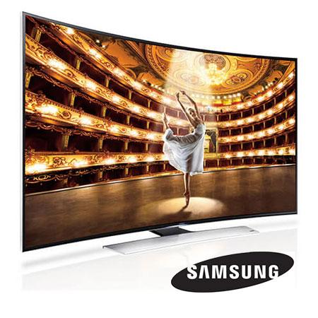 Ballerina on TV screen